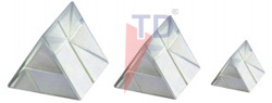 PRISM, GLASS, EQUILATERAL